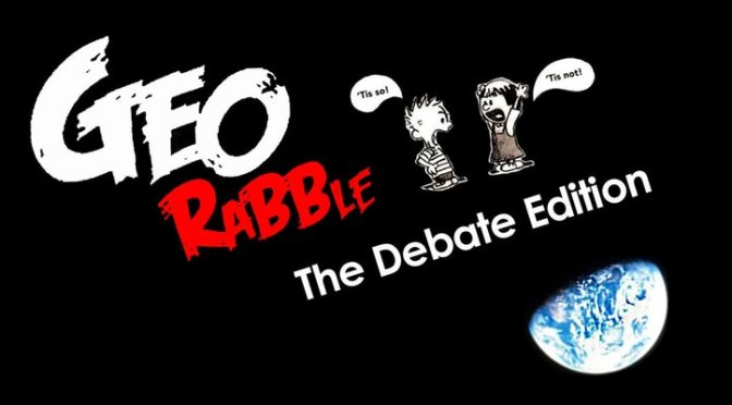 GeoRabble Perth #20 – The Debate Edition – GIS Day: Wednesday 15th November 2017